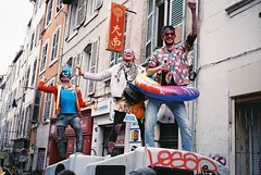 Carnival (Kyrrð) Tags: 35mn carnival costume party marseille free colorfull france film aixenprovence south bar citylife chill summer contrast streetart grafitti colorful goodvibes explore architecture