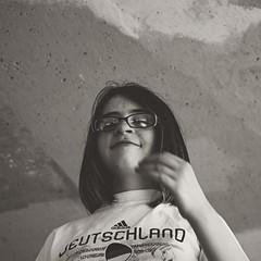 Evie at Alton Baker Park (pete4ducks) Tags: evie evangeline kid girl child eugene oregon spring raw on1pics altonbakerpark 2018 blackandwhite square cropped matte 500views