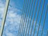White lines and a blue sky EXPLORED! (Shahrazad26) Tags: erasmusbrug bridge brücke brug pont ponte rotterdam zuidholland nederland holland thenetherlands paysbas
