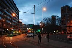 Bilbao (País Vasco, España, 16-11-2013) (Juanje Orío) Tags: 2013 bilbao vizcaya provinciadevizcaya paísvasco euskadi españa espagne espanha espanya spain horaazul bluehour tranvía europa