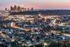 Downtown LA Night Photography (sammanwong) Tags: sony sonyalpha sonyalphaclub sonyalphaimage sonya6500 a6500 sonyphotography sel1670z zeiss1670 nightphotography nightphoto losangeles downtownla downtownlosangeles nightscene nightshot nightlights ernestedebspark debspark ernestedebsregionalpark sunset bluehour lighttrails