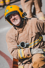 Ring Road Exercise (Cheshire Fire and Rescue Service) Tags: cheshire fire rescue service firefighter training exercise practice hose people