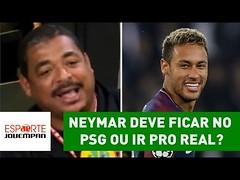 Neymar deve ficar no PSG ou ir pro Real? Vampeta dá MELHOR resposta! (portalminas) Tags: neymar deve ficar no psg ou ir pro real vampeta dá melhor resposta