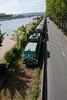 Train alongside the River Seine (Don McDougall) Tags: donmcdougall don mcdougall france seine normandy rouen riverseine river train transport