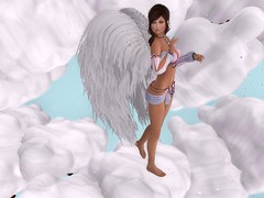 Fly Away (Flawless Developments) Tags: sweet thing second life video game blog blogger virtual reality quiggles easterwood flawless developments laq maitreya romp body language doe slc lovely cute blueberry photo photographer