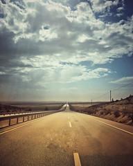 It is a long way home (VillaRhapsody) Tags: road sky driving vanishing landscape roadtrip ankara turkey cyunanimous challengeyouwinner cy2