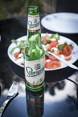 Summer. (Reckless Times) Tags: summer czech beer lager drink starapramon kidlington garden vibes bbq tomato basil 100x project nikon d750