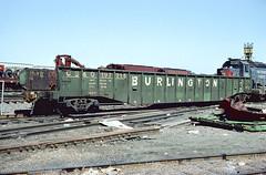 CB&Q Class GM-3D 197216 (Chuck Zeiler) Tags: cbq class gm3d 197216 burlington railroad gondola freight car clyde train chuckzeiler chz
