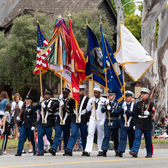 Joint Services Color Guard (mark6mauno) Tags: joint services color guard flag 59thannualtorrancearmedforcesdayparade 59th annual torrance armed forces day parade 2018 nikkor 70200mmf28evrfled nikon nikond810 d810