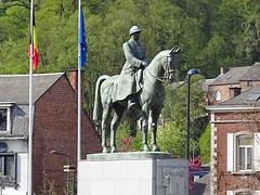 Monumento Estatua ecuestre de Alberto I rey de Belgica Namur Belgica (Rafael Gomez - http://micamara.es) Tags: monumento estatua ecuestre de alberto i rey belgica namur valonia bélgica