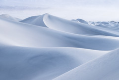 Soft (Michael Bollino) Tags: dunes mesquitedunes deathvalley nationalpark desert twilight highkey california morning nikon induro landscape photography