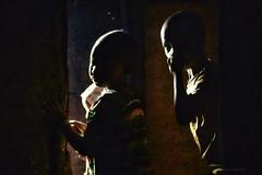 Who Is Here? (Timothy Hastings) Tags: masai maasai tanzania africa serengeti plain wildlife nilotic people christian dinka color shuka tradition herder culture tall beautiful hospitable cdren future journey safari cattle herding
