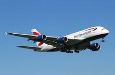 G-XLEL Airbus A380-841 British Airways (R.K.C. Photography) Tags: gxlel airbus a380841 a380 aircraft aviation airliners britishairways ba baw speedbird london england unitedkingdom uk londonheathrowairport lhr egll canoneos100d