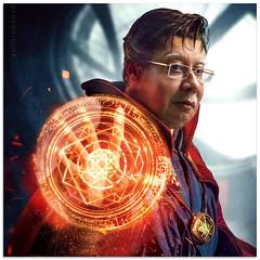 Make trillion disappear strangely (willfire) Tags: willfire singapore malaysia ex prime minister dato sri haji mohammad najib bin tun abdul razak 1mdb drstrange marvel mismanagement corruption