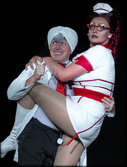 The Stardut Variety Show, Cyprus, 2018. (CWhatPhotos) Tags: cwhatphotos entertain entertainment fun good top drag artists artist stardustvarietyshow cyprus stardust variety show 2018 season digital camera pictures picture image images photo photos foto fotos that have which contain olympus holiday eastern protaras girls men nurse doctor role play laugh red