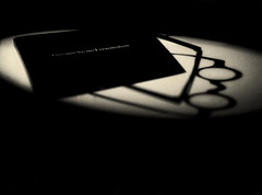 Limited Edition: 1 Copy (Giovanni Savino Photography) Tags: existentialism rarebook uniquecopy limitedprinting noir magneticart ©giovannisavino