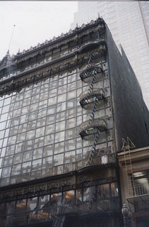 San Francisco - Hallidie Building - Historic  glass curtain walls