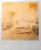 final resting place (Maureen Bond) Tags: ca maureenbond desert mojave junkyard film polaroid roidweek2018 impossible cars automobiles classics grill teeth headlights expired