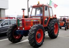 Same Tiger Six 105 DT (samestorici) Tags: trattoredepoca oldtimertraktor tractorfarmvintage tracteurantique trattoristorici oldtractor veicolostorico 100