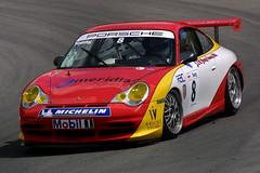 Jason Young - Red Line Racing - Porsche GT3 Cup (Boris1964) Tags: 2005 porschecarreracupgb brandshatch