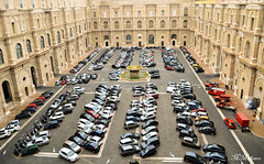 Vatican - Symmetry (M Malinov) Tags: vatican vaticano roma rome roman italy italia lazio cars simmetry backyard италия рим риме коли ватикана симетрия