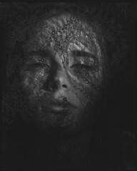 remnant (steve-jack) Tags: sinar p 210mm kodak tmax 100 expired 1988 film 5x4 4x5 large format ilford perceptol epson v500 portrait lace
