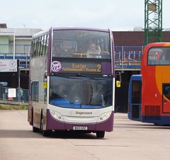 Stagecoach South West 15895 WA13GDZ (DGPhotography1999) Tags: doubledeckerbus exeterbuscoachstation hop2 scania enviro400 stagecoach stagecoachsouthwest 15895 wa13gdz