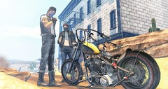 This life is ours. (brian.werefox) Tags: findyours tmd sau the forge argrace addams dufaux deadwool nativeurban tonktastic tabou bike biker road trip arnarchy freedom
