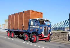 TV018666-Conwy. (day 192) Tags: conwy conwyroadrun llandudnofestivaloftransport roadrun lorries lorry wagon truck classiclorry preservedlorry vintagelorry aec mammoth major aecmammothmajor dennisamoulding bbp425