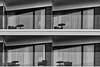 individuality (Leipzig_trifft_Wien) Tags: minimalism architecture balcony black white monochrome urban city building modern contemporary
