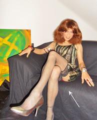 sitting wrong ... episode 556 (Katvarina) Tags: crossdressing crossdress crossdresser kat transgender transgirl tgirl tgurl transpeople highheels metrosexuality