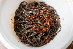 Fern Root Powder Noodle Salad (knightbefore_99) Tags: takeout takeaway grand chinese tasty best spicy hot northern delicious fern root powder garlic noodle salad pepper