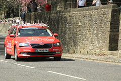 Cofidis (Steve Dawson.) Tags: tourdeyorkshire mens bike race roads tdy peloton uci stage4 halifaxtoleeds teamcars skipton yorkshire england uk canoneos50d canon eos 50d ef28135mmf3556isusm ef28135mm f3556 is usm 6th may 2018