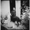 Vania and Frida (Arslan Ahmedov) Tags: black white bw analogue doubleexposure ilford 6x6 120 medium plovdiv bulgaria lubitel166 littledoglaughednoiret
