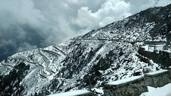 On the way to Sela pass (Anway Sen) Tags: arunachalindia selapass snow mountain clouds snowfall mia1