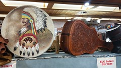 Springfield Leather Co (Adventurer Dustin Holmes) Tags: 2018 drum guitarcase musicalinstrument musicalinstruments springfieldleatherco springfieldleathercompany springfieldmissouri art springfieldmo business businesses crafts leatherwork leather nativeamerican chief detailed