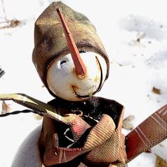 souvenir hivernal (JMVerco) Tags: hiver neige square