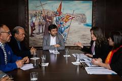 Reunión Superintendente de Casinos (muniarica) Tags: arica chile muniarica municipalidad ima alcalde gerardoespindola casinos superintendente juegosdeazar