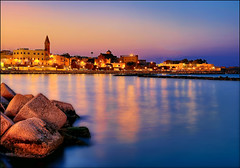 Riso, patate e cozze (Gio_guarda_le_stelle) Tags: sunset evening tramonto seaside seascape bari puglia italy sea water light oldtown sera atmosfera atmosphere sky afterglow luci lights harbor i brezza festa