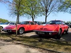 Opel GT 1973 (12-08-XX) 1971 (16-80-TE) (MilanWH) Tags: opel gt 1973 1208xx 1971 1680te