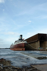 Duluth Superior Trip - April 2018 - SS American Victory Now Part of the Canadian Algoma Fleet (pmarkham) Tags: laker ship boat bulker steamer americanvictory algoma superior wi usa