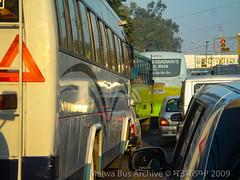 Ludhiana, Punjab (Malwa Bus Archive) Tags: 2009 india malwabusarchive punjab studio1937 travel ludhiana traffic bus punjabroadways newfatehgarhsahib ludhianatransportcompany