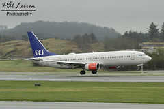SAS Scandinavian Airlines - LN-RCY - 'Eylime Viking' - 2018.04.24 - ENZV/SVG (Pål Leiren) Tags: stavanger sola norway svg enzv flyplass airport planes plane planespotting aviation aircraft runway rw airplane canon7d 2017 airliner jet jetliner april april2018 sasscandinavianairlines lnrcy eylimeviking sas scandinavian airlines flysas boeing 737883b738