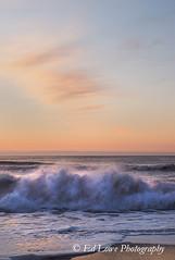 Assateague Sunrise (elowephoto) Tags: assateague maryland seashore coastal landscape scenic atlanticocean waves sunrise clouds sand beach