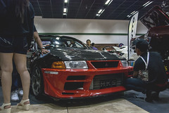 Mitsubishi Lancer Evolution V (CN9A) (Justin Young Photography) Tags: cars manila philippines manilainternationalautoshow mitsubishi lancerevolution evov cn9a