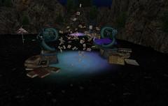 The Fairies Story Time (aerlinniel.roughneck) Tags: firelight adorablystrangewares beyondmajestic fantasyfaire2018 fashiowl geckocreations lacrimedellanima secretsofgaia tamironforge theplastik