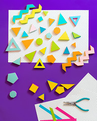 (hey SP) Tags: papercraft paper vibes 80s polyhedra handmade