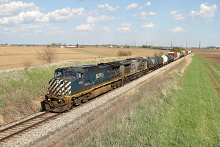 BCOL 4650 west in Genoa, Illinois on May 5, 2018.