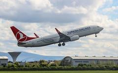 Turkish B738 TC-JHV (megatroncox) Tags: turkey turkish airlines istanbul ataturk dublin departure take off boeing b738