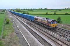 Colton EfW (JohnGreyTurner) Tags: br rail uk railway train transport colton york yorkshire diesel engine locomotive 66 class66 shed freight efw waste ews db dbs